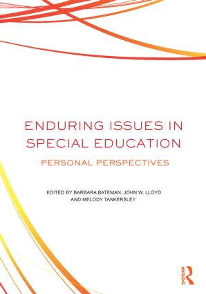 Enduring Issues In Special Education: Personal Perspectives (Paperback) book cover