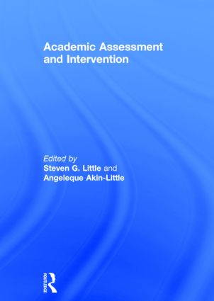 Academic Assessment and Intervention: 1st Edition (Hardback) book cover