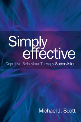 Simply Effective CBT Supervision (Paperback) book cover