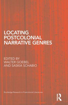 Locating Postcolonial Narrative Genres (Hardback) book cover