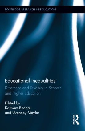 Educational Inequalities: Difference and Diversity in Schools and Higher Education (Hardback) book cover