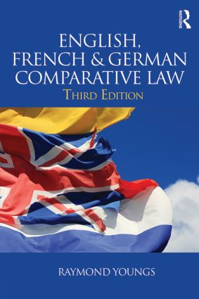 English, French & German Comparative Law book cover