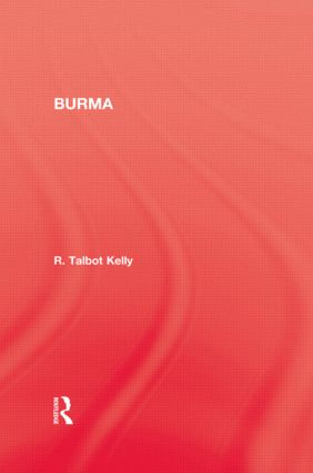 Burma: 1st Edition (Paperback) book cover