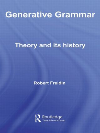 Generative Grammar: Theory and its History (Paperback) book cover