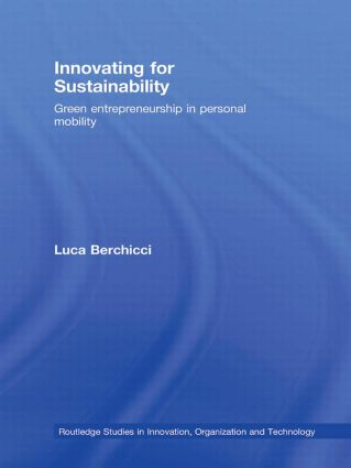 Innovating for Sustainability: Green Entrepreneurship in Personal Mobility (Paperback) book cover