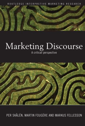 Marketing Discourse: A Critical Perspective (Paperback) book cover