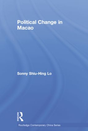 Political Change in Macao (Paperback) book cover