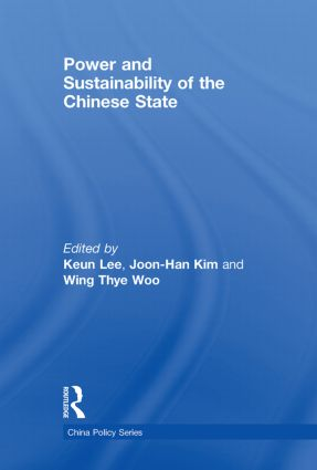 Power and Sustainability of the Chinese State (Paperback) book cover