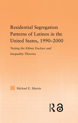 Residential Segregation Patterns of Latinos in the United States, 1990-2000 book cover