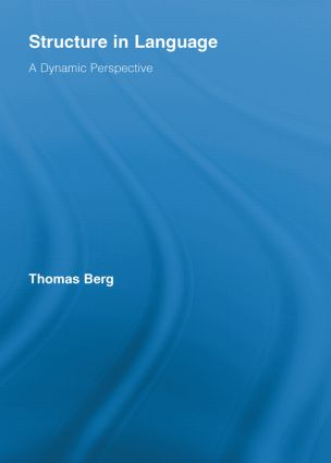 Structure in Language: A Dynamic Perspective (Paperback) book cover