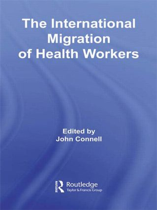 The International Migration of Health Workers (Paperback) book cover