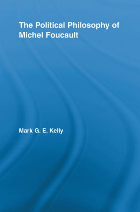 The Political Philosophy of Michel Foucault (Paperback) book cover