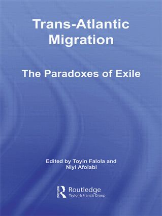 Trans-Atlantic Migration: The Paradoxes of Exile (Paperback) book cover