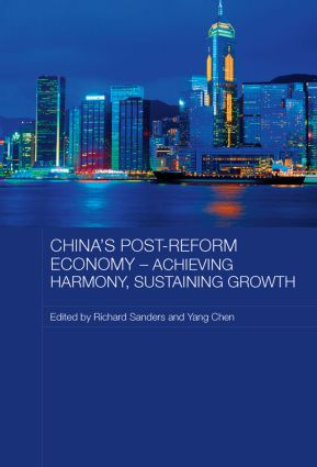 China's Post-Reform Economy - Achieving Harmony, Sustaining Growth (Paperback) book cover