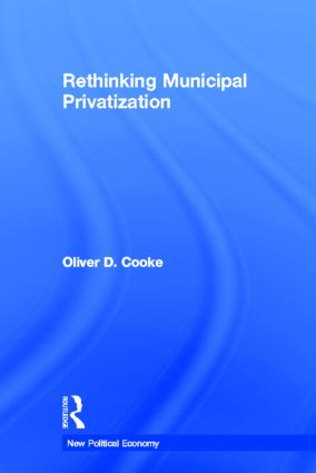 Rethinking Municipal Privatization book cover