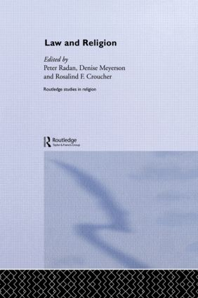 Law and Religion (Hardback) book cover