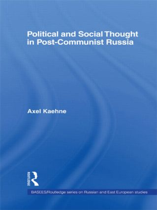 Political and Social Thought in Post-Communist Russia: 1st Edition (Paperback) book cover