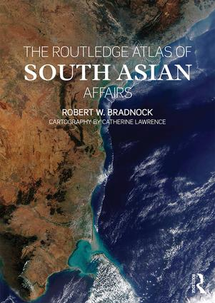 The Routledge Atlas of South Asian Affairs (Paperback) book cover