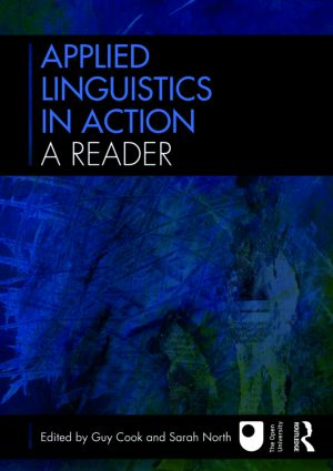 Applied Linguistics in Action: A Reader: 1st Edition (Paperback) book cover