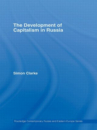 The Development of Capitalism in Russia (Paperback) book cover