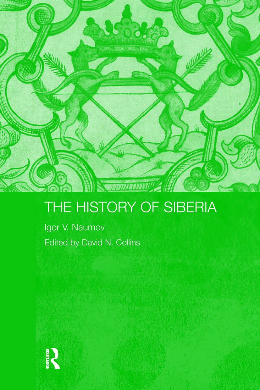 The History of Siberia (Paperback) book cover