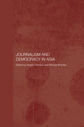 Journalism and Democracy in Asia (Paperback) book cover