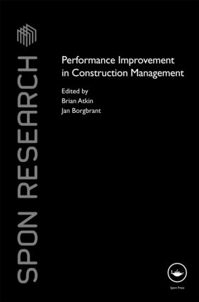 Performance Improvement in Construction Management (Hardback) book cover