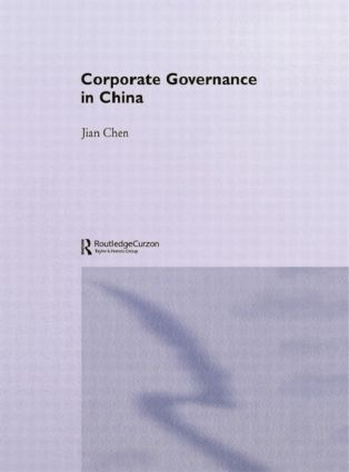 Corporate Governance in China (Paperback) book cover