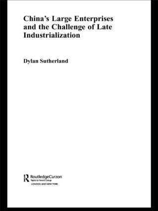 China's Large Enterprises and the Challenge of Late Industrialisation (Paperback) book cover