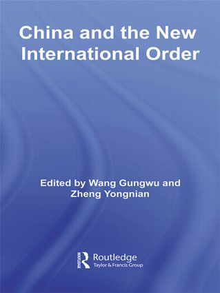 China and the New International Order (Paperback) book cover
