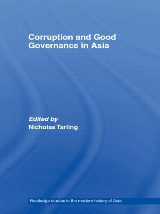 Corruption and Good Governance in Asia: 1st Edition (Paperback) book cover