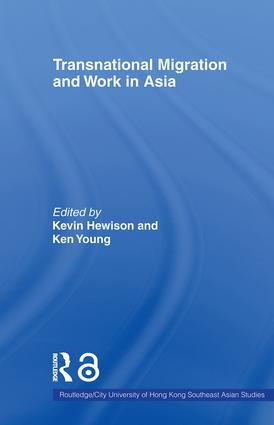 Transnational Migration and Work in Asia: 1st Edition (Paperback) book cover