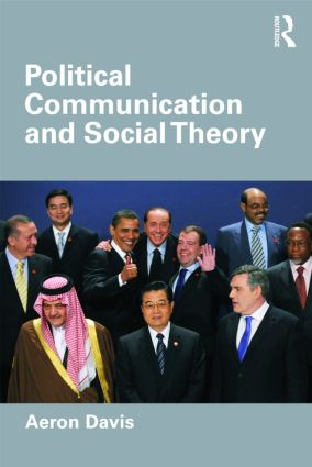 Political Communication and Social Theory (Paperback) book cover