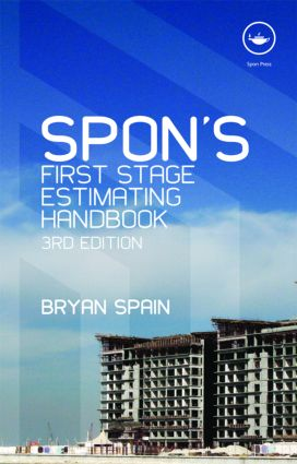 Spon's First Stage Estimating Handbook, Third Edition: 3rd Edition (Paperback) book cover