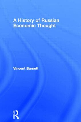 A History of Russian Economic Thought (Paperback) book cover