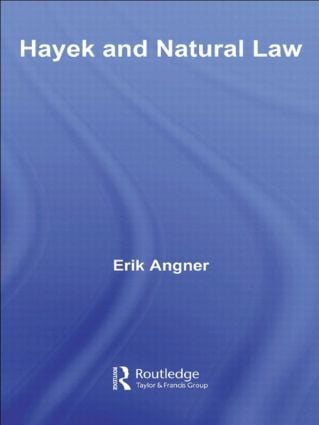 Hayek and Natural Law: 1st Edition (Paperback) book cover