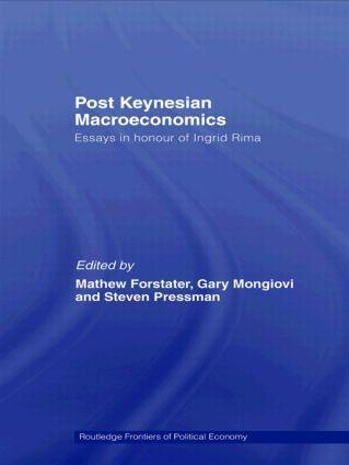 Post-Keynesian Macroeconomics: Essays in Honour of Ingrid Rima (Paperback) book cover