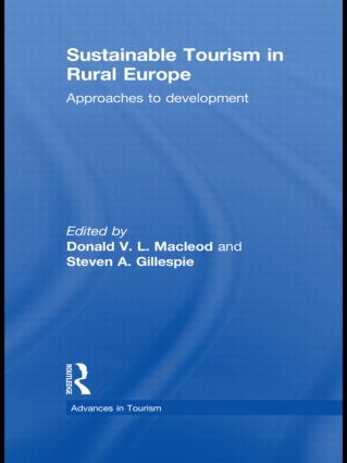 Sustainable Tourism in Rural Europe: Approaches to Development book cover