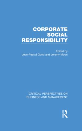 Corporate Social Responsibility (Hardback) book cover