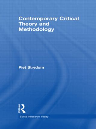 Contemporary Critical Theory and Methodology (Hardback) book cover