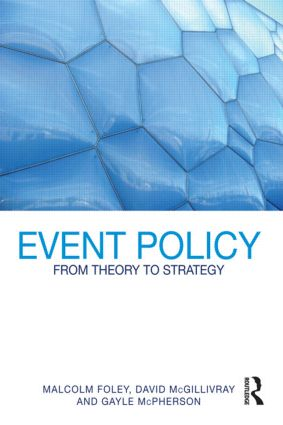 Event Policy: From Theory to Strategy (Paperback) book cover