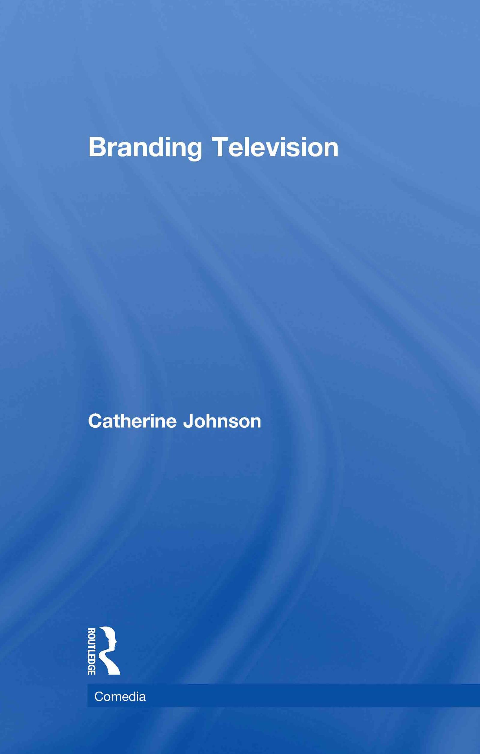 Branding Television (Hardback) book cover