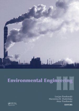 Environmental Engineering III: 1st Edition (Hardback) book cover