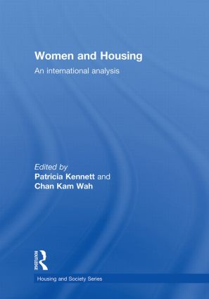 Women and Housing: An International Analysis book cover