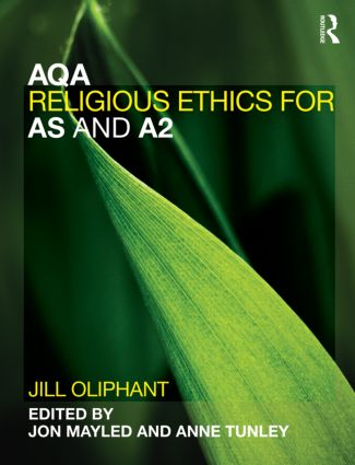 AQA Religious Ethics for AS and A2 (Paperback) book cover
