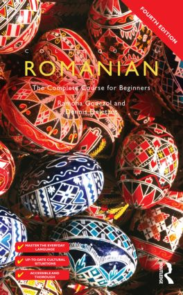 Colloquial Romanian: The Complete Course for Beginners, 4th Edition (e-Book) book cover