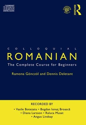 Colloquial Romanian: The Complete Course for Beginners, 4th Edition (Audio CD) book cover