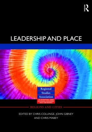 Leadership and Place (Hardback) book cover