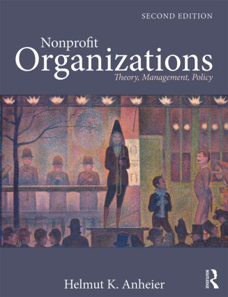Nonprofit Organizations: Theory, Management, Policy, 2nd Edition (Paperback) book cover