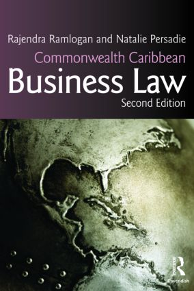 Commonwealth Caribbean Business Law: 2nd Edition (Paperback) book cover